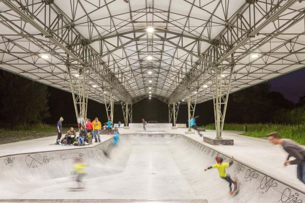 Pista skate cubierta Zuatzu Galdakao