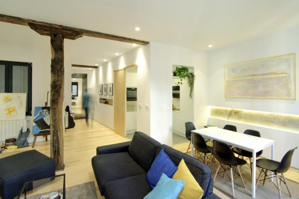 Rehabilitación y reforma vivienda Bilbao