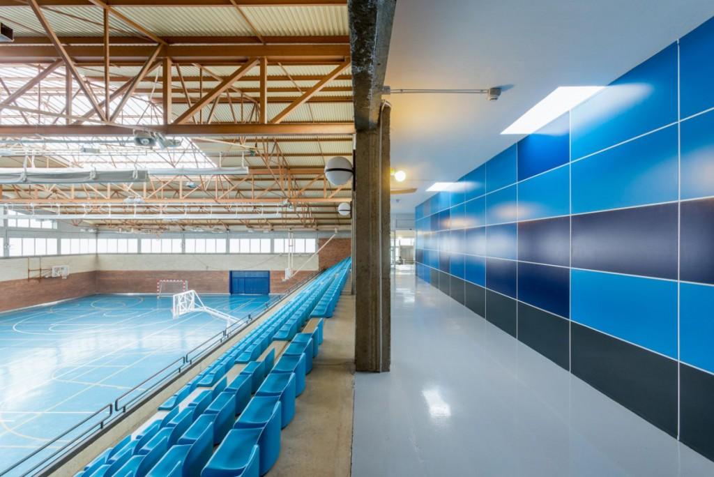Reforma y acondicionamiento Interior Polideportivo Mungia